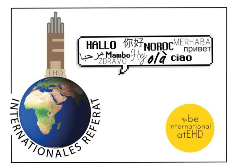 Logo des Internationalen Referates